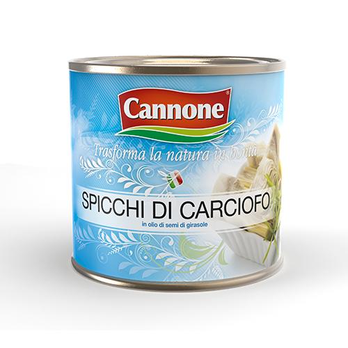 SpicchiCarciofoOlio-Cannone-Latta-2650g
