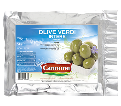 Large Italian green olives for wholesale